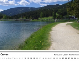 Kalendář 2018 - jezero Teichalmsee