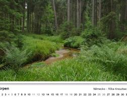 Kalendář 2018 - říčka Kreuzbach