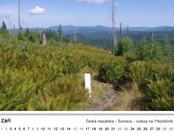 Kalendář 2018 - výstup na Třístoličník