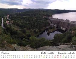 Kalendář 2020 - Vranovská přehrada