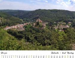 Kalendář 2020 - Rakousko, hrad Hardegg