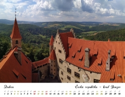 Kalendář 2020 - hrad Bouzov