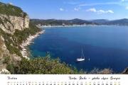 Kalendář 2020 - Řecko, Korfu - Zátoka Agios Georgios