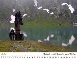 Kalendář 2021 - Rakousko, údolí Kaunertal, jezero Weissee