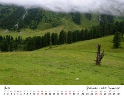 Kalendář 2021 - Rakousko, údolí Kaunertal