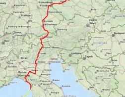 Cesta na Korsiku
