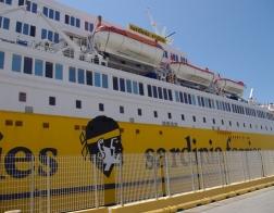 Trajekt z Livorna na Korsiku