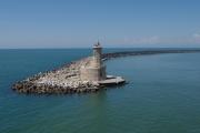 Italské Livorno - odtud vyjíždí trajekt do Bastie