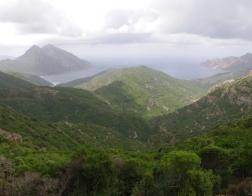 Panorama při cestě do Porta