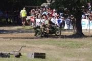 14. tankový den v Lešanech 2016 - bojová scéna