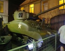 14. tankový den v Lešanech 2016 - tank Sherman