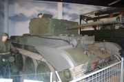 14. tankový den v Lešanech 2016 - britský tank Cromwell