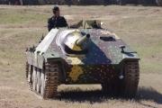 14. tankový den v Lešanech 2016 - tank Hetzer