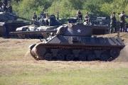 14. tankový den v Lešanech 2016 - tank M36