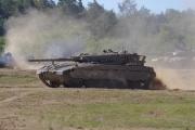 14. tankový den v Lešanech 2016 - tank Merkava Mk1
