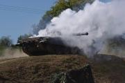 14. tankový den v Lešanech 2016 - ukázka techniky