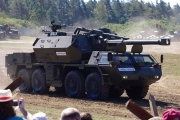 14. tankový den v Lešanech 2016 - samohybná houfnice DANA M1M