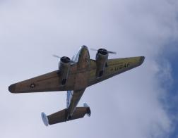 Memorial Air Show 2015 - Beechcraft Twinbeach