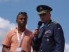 Memorial Air Show 2015 - moderátor Ray Koranteng