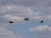 Memorial Air Show 2015 - doprovod Gripenů