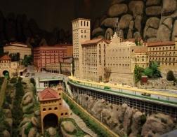 Model celého kláštera