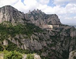 Výhled na Montserrat