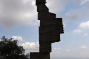Jakýsi kamenný útvar na Montserratu