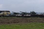 NATO days 2014 - tanky T-72 a BVP