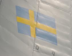 NATO days 2014 - švédský stroj