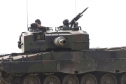 NATO days 2014 - ukázka tanku Leopard 2 s polskou osádkou