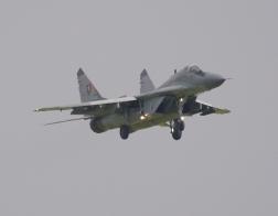 NATO days 2014 - vysoká pilotáž MiG-29