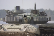 NATO days 2014 - ukázka v terénu tanku T-72