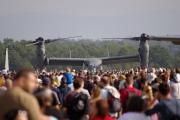 NATO days 2014 - dav čeká na odlet Ospreye