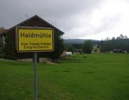 Německo - městečko Haidmühle