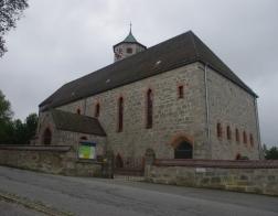 Německo - městečko Haidmühle, místní kostel