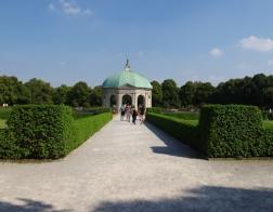 Hofgarten - park v Mnichově