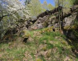 Pěchotní srub Jirásek - tento srub patřil k nejméně zachovalým