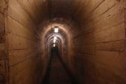 Uvnitř pevnosti Dobrošov - chodby byly přes kilometr dlouhé