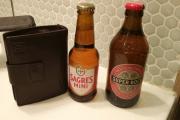 Portugalsko - Porto - snad jediné dva druhy piva, která se dají sehnat v místním supermarketu