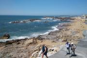 Portugalsko - Porto - pobřeží Praia da Luz s výhledem na Atlantický oceán