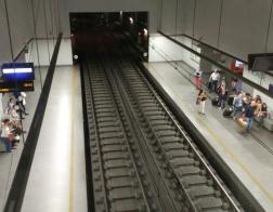 Portugalsko - Porto - stanice metra