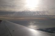 Portugalsko - Porto - výhled z letadla