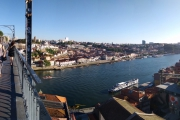 Portugalsko - Porto - výhled z mostu Dom Luís I