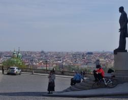 Praha - Hradčany, pomník Tomáše Garrigue Masaryka