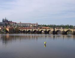 Praha - Karlův most a Pražský hrad