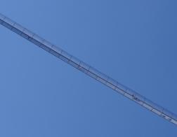 Rakousko - lanový most Highline 179