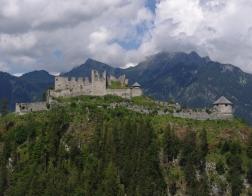 Rakousko - zřícenina Ehrenberg