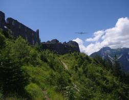Rakousko - zřícenina Schlosskopf