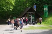 Rakousko - Medvědí soutěska (Bärenschützklamm) - vstup (pokladna)