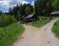 Rakousko - Medvědí soutěska (Bärenschützklamm) - restaurace Guten Hirten